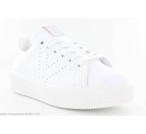 Baskets femme Victoria BLOC 262115 Blanc