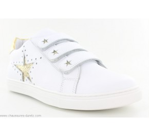 Baskets fille Bellamy ILKI Blanc / Or