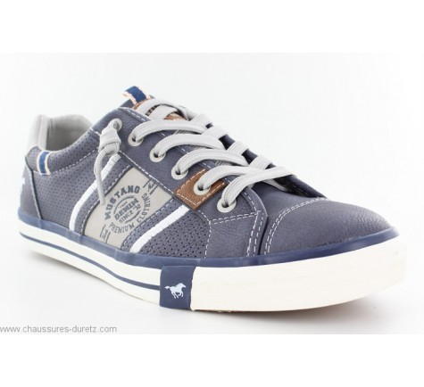 Chaussures homme Mustang FUNY Bleu Marine