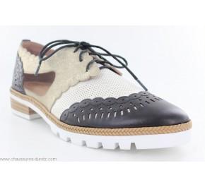 Chaussures femme Mam'Zelle YELSI Noir / Or