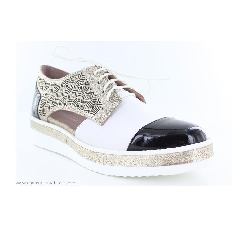 divers design braderie répliques Chaussures femme Mam'Zelle KIONA Compo Métal