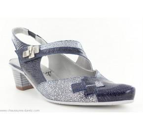 Chaussures femme Un Tour en Ville PEDAX Marine