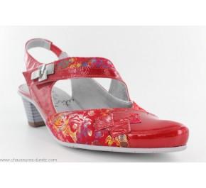 Chaussures femme Un Tour en Ville PEDAX Rouge