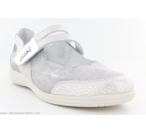 Chaussures femme Artika SCARENO Blanc / Argent