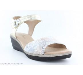 Sandales femme Artika NAELY Platine