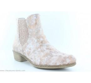 Boots femme Rieker DISCRET Rosa Y0771-32