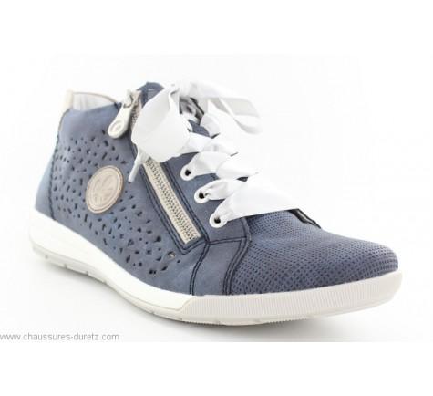 Baskets femme Rieker DISCO Bleu M3045 15