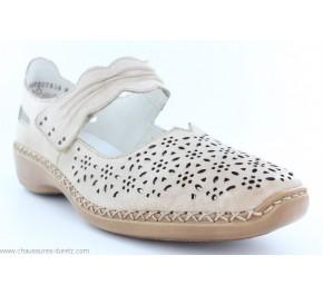 Chaussures femme Rieker DIESEL Taupe 413G7-60