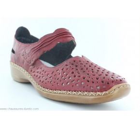 Chaussures femme Rieker DICT Rouge 41399-35