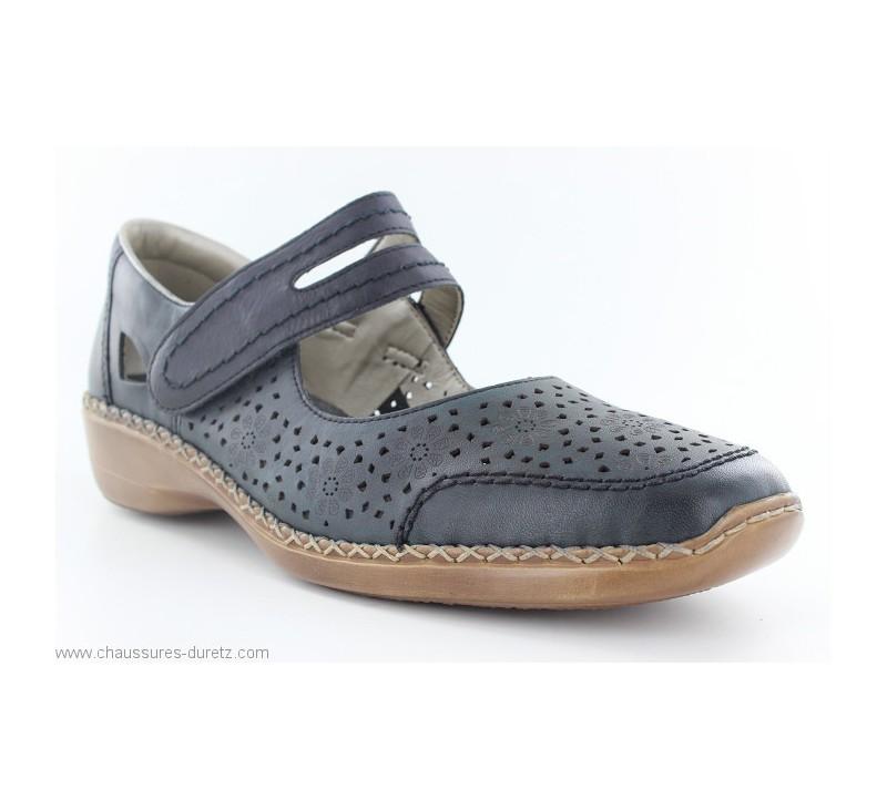 Chaussures femme Rieker DIESE Bleu 413J9 14