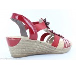 Sandales Rieker DISTA Rouge 62461-34