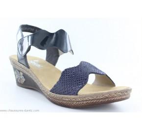 Sandales femme Rieker DISC Bleu V2402-14