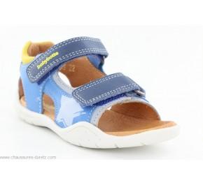 Sandales Garçon Babybotte TRANSAT Bleu