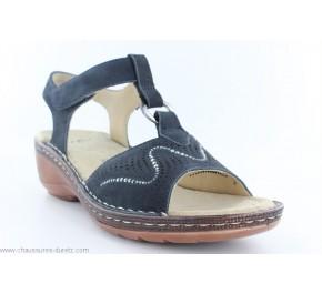 Sandales femme Ara AGE Bleu marine