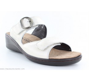 Mules femme Méphisto - JULIA Light Grey