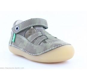 Chaussures garçon Kickers SUSHY Kaki Camouflage