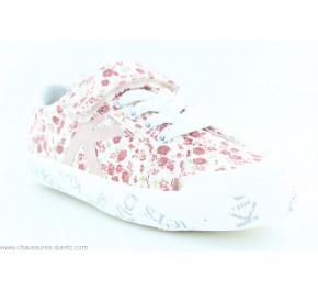 Chaussures fille Kickers GODY Blanc fleuri