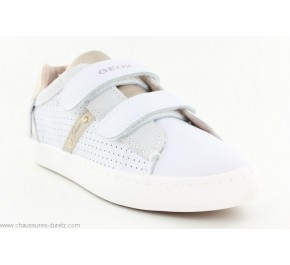 Baskets filles Geox FUNE Blanc