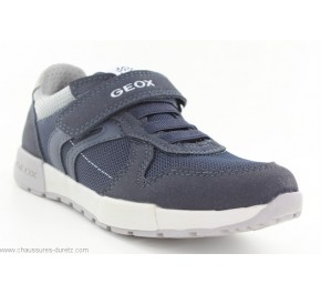 Baskets garçon Géox FUN3 Navy / Grey