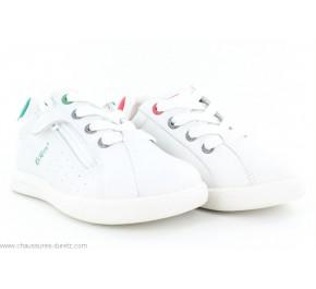 Chaussures garçon Kickers CHICAGO Blanc