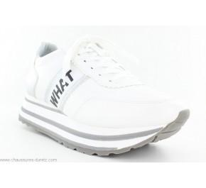 Baskets femme Tamaris SAE Blanc / Silver