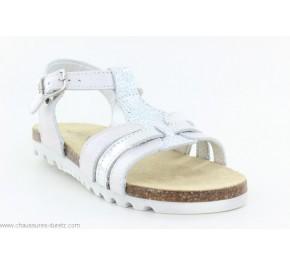Sandales fIllette Bopy ELOGE Blanc