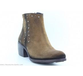 Boots femme Dorking PUNIR 8099 Marron