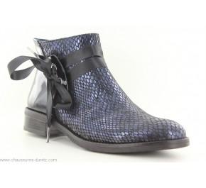 Boots femme Dorking PUY 8004 Bleu marine