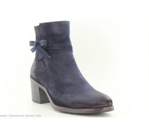 Boots femme Dorking PUNK 7335 Bleu
