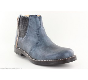 Boots fille Babybotte NIRVANA Pétrole