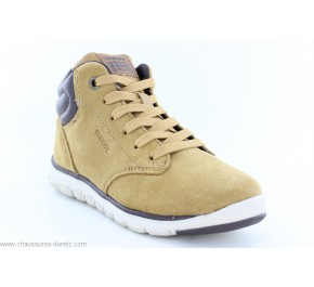 Bottines garçon Geox FOK Yellow / Brown