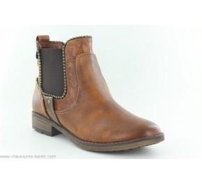 Boots femme Mustang GEEK Cognac