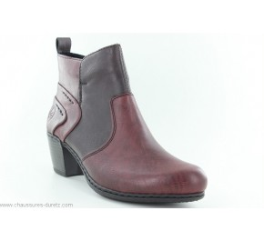 Boots femme Rieker EMBU Rouge Y2160-36
