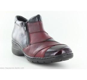 Boots femme Rieker CUISSE Rouge L4373-35