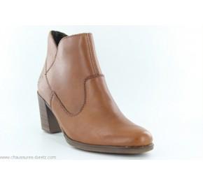 Boots femme Rieker EMOI Cognac Y8990-24