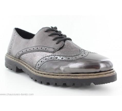 Chaussures à Lacets Blanc Femme Rieker