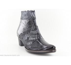 Boots femme Un Tour en Ville PEFORA Noir / Etain