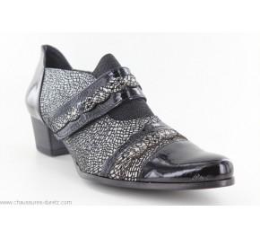 Chaussures femme Un Tour en Ville REDON Noir / Etain