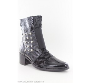 Boots femme Un Tour en Ville RAAVEL Noir
