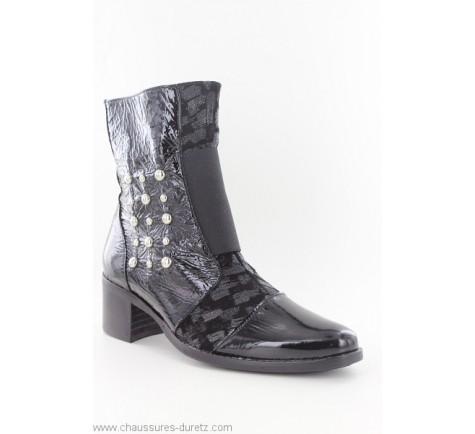 en Ville femme RAAVEL Boots Noir Un Tour TZOkiuPX