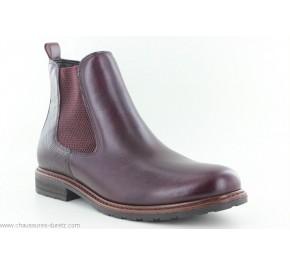 Boots femme Tamaris TACET Bordeaux