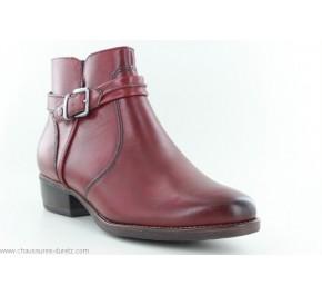 Boots femme Tamaris RIXEL Bordeaux