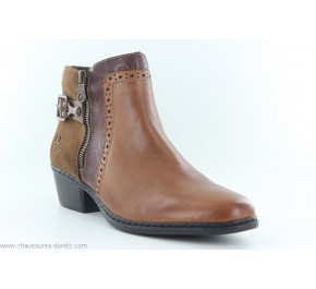 Boots femme Rieker EMBOLI Marron 75585-24
