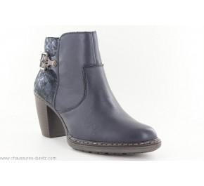 Boots femme Rieker CRISE Marine 55292-14