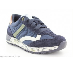 Baskets garçon Geox FAT2 Navy / Military