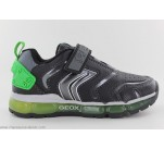 Baskets Geox FLASH Noir / Vert