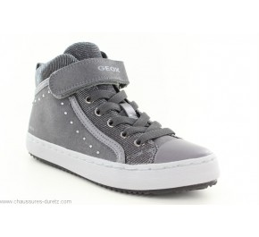 Baskets fille Geox FEET2 Grey