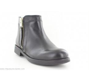 Boots fille Géox FOIRE Noir