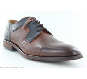 Chaussures homme Redskins WINDSOR Cognac / Marine / Gris