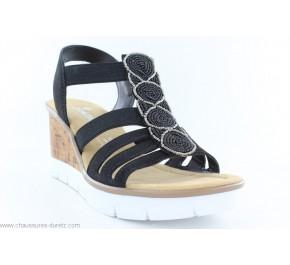Sandales femme Rieker FONTE Noir V55D8-00